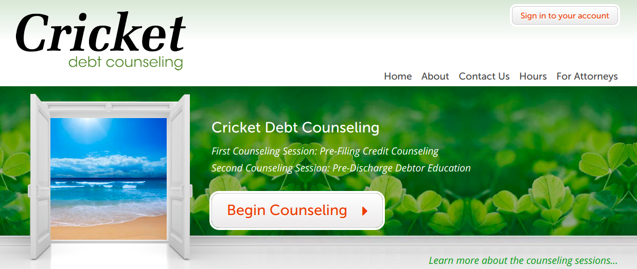 Cricket Debt Counseling Logo