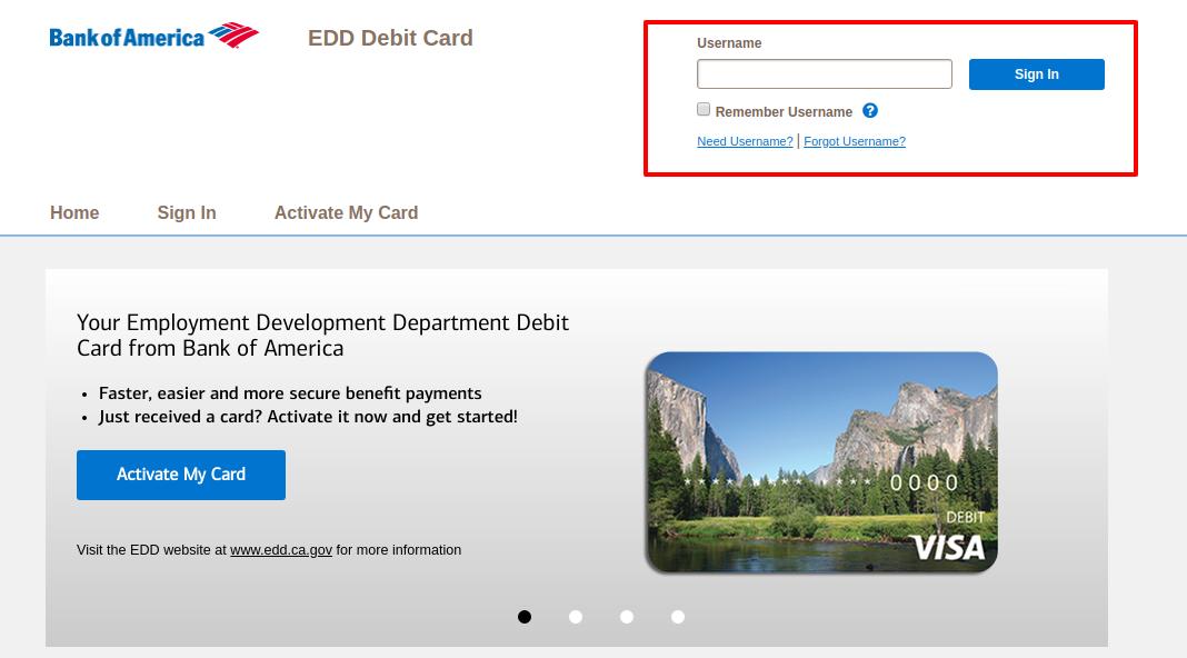 www.prepaid.bankofamerica.com/EddCard - Bank Of America Edd Debit