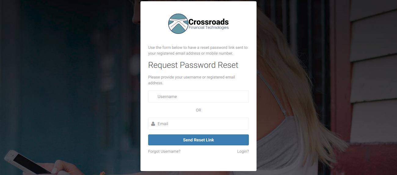 Reset Password CFTPay