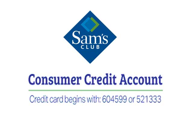 Sam's Club Credit Online Account login