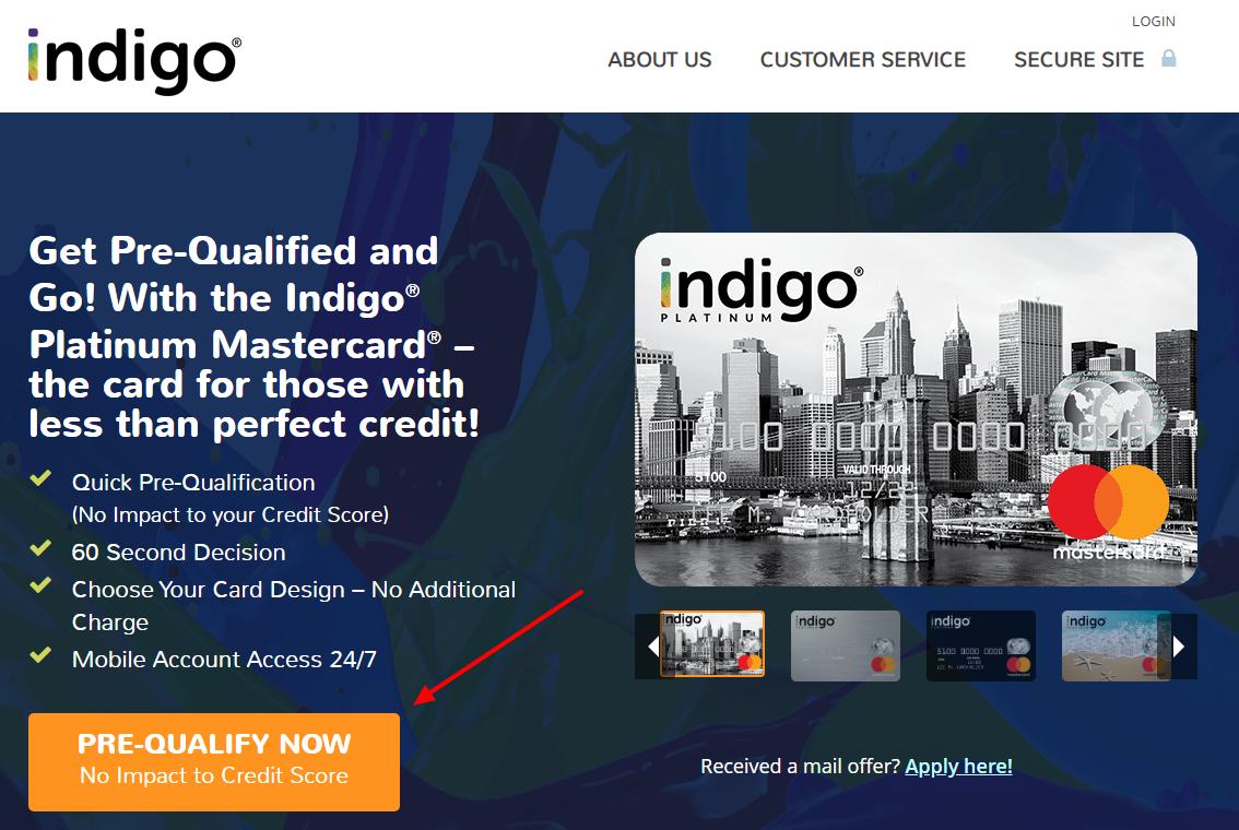 Apply For Indigo Platinum MasterCard