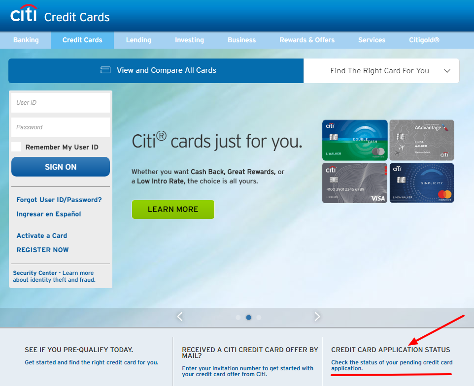 Check Your Application Status for Citi Secured MasterCard