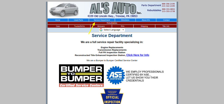Als-Auto-Inc-of-PA-Service-Department