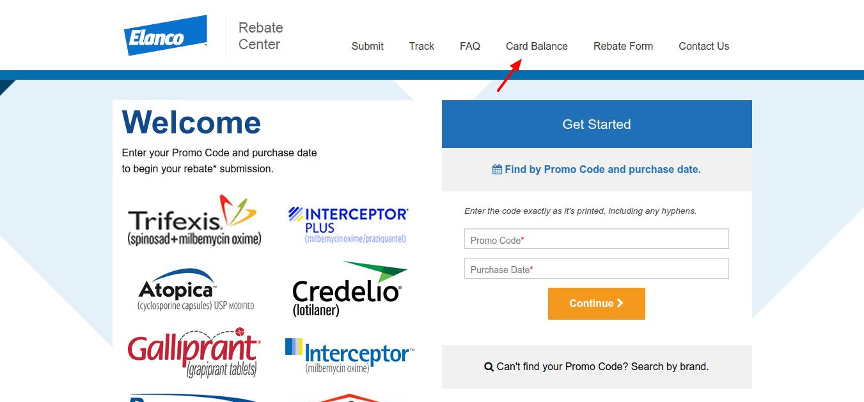 Card-balance-Elanco-Product-Rebate