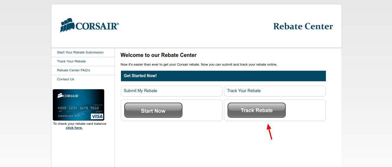 Corsair-Rebate-Center-track