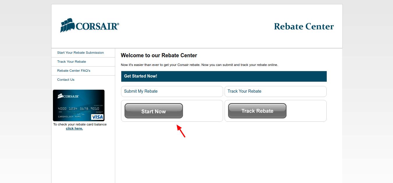 Corsair-Rebate-Center