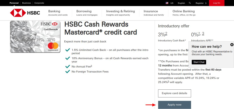 HSBC-Master-card-Apply
