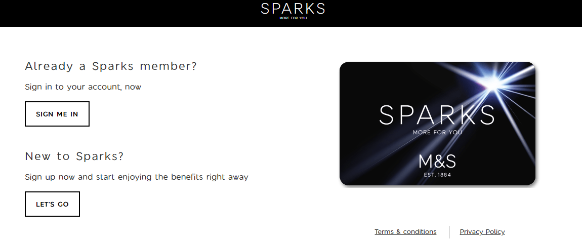 Log In To Spark Member Club Account