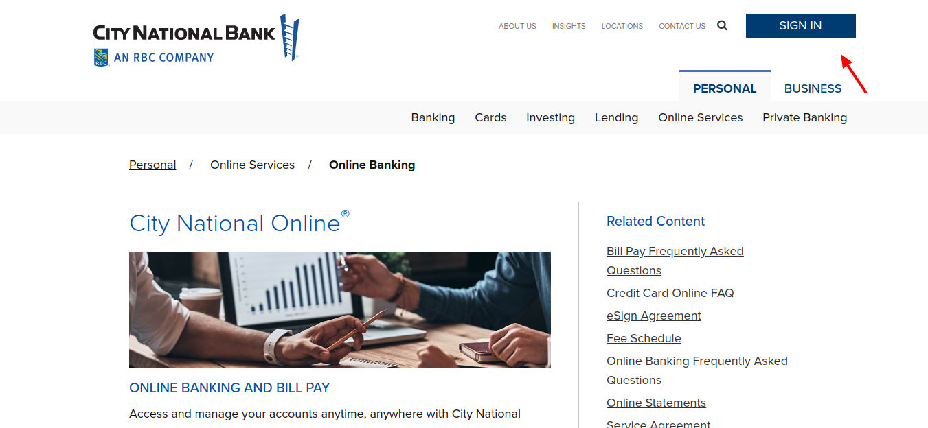 Online-Banking-Sign-in