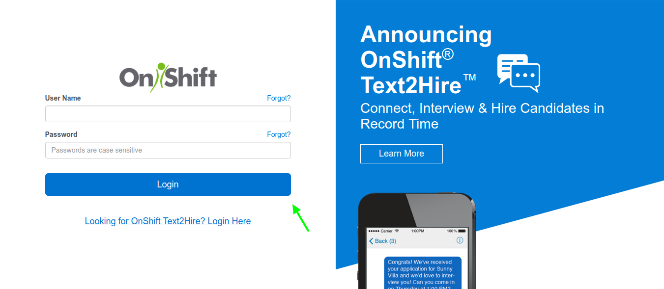 onshift-login