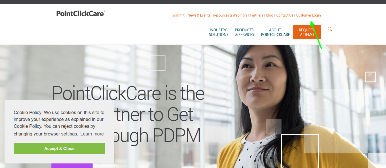 pointclickcare-customer-login