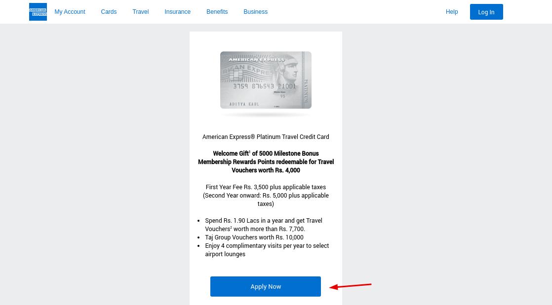 Delta SkyMiles Gold Card Apply