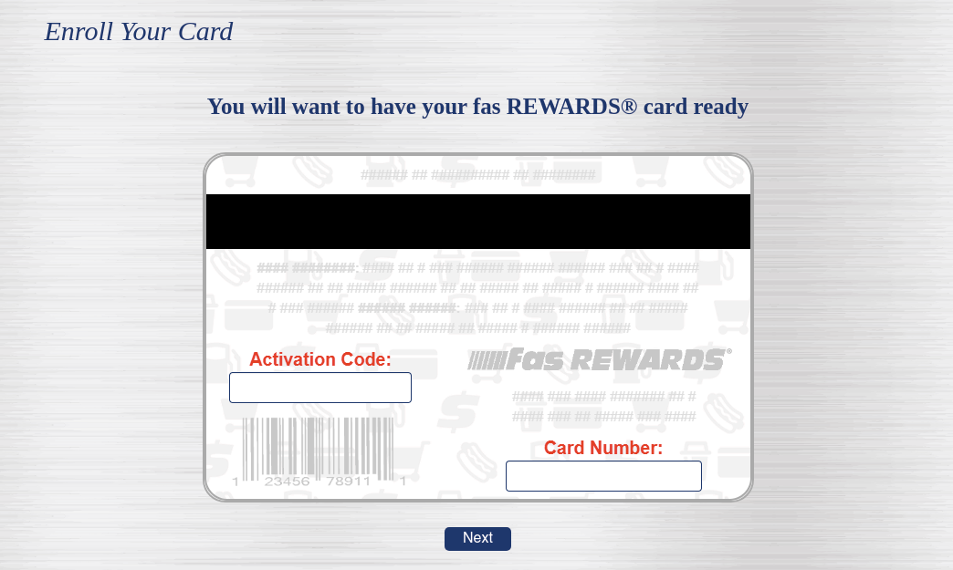 Fas Rewards Enroll