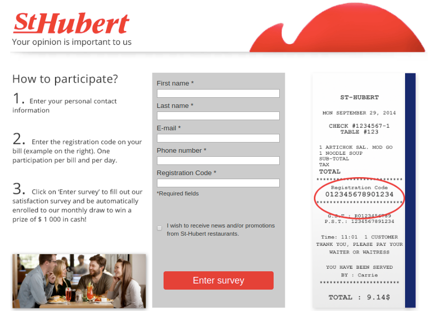St-Hubert Survey