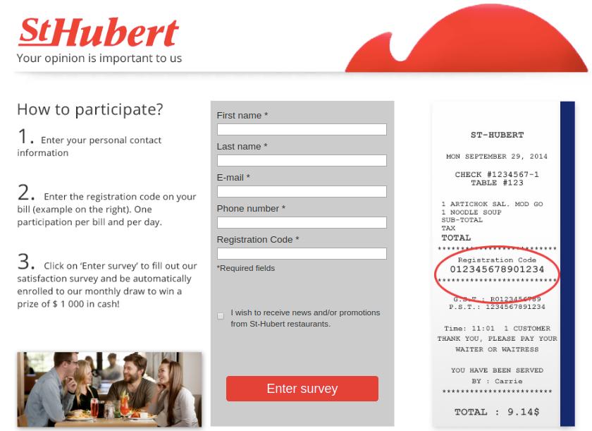 St-Hubert Survey