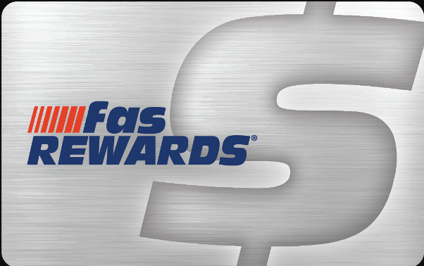 fas rewards card logo