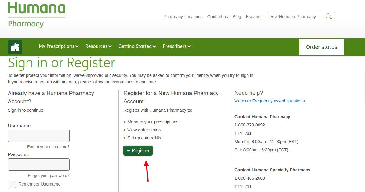 Humana Register