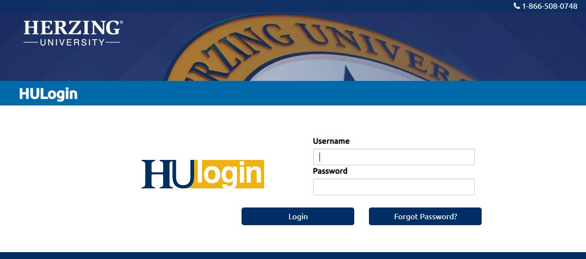 Herzing University Student Portal login