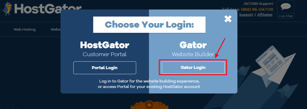 HostGator Login guide