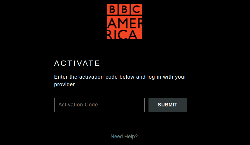 bbcamerica Activate device