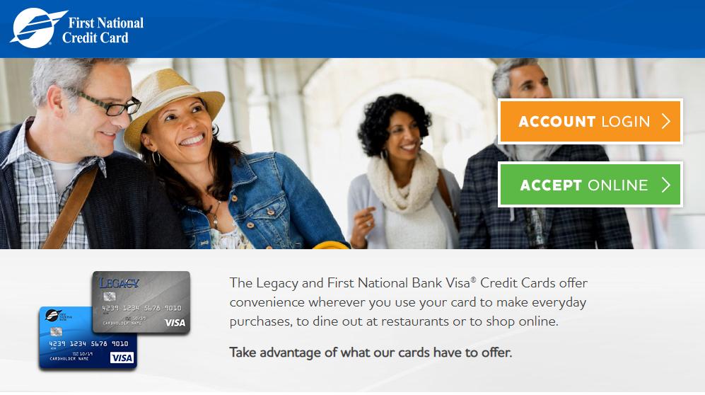 FNB Credit Card Online Login
