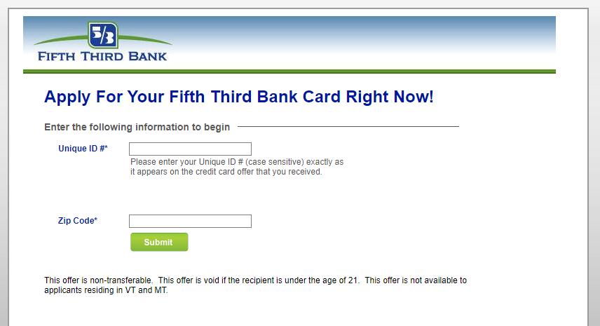 Fifty Third Bank Card Logo