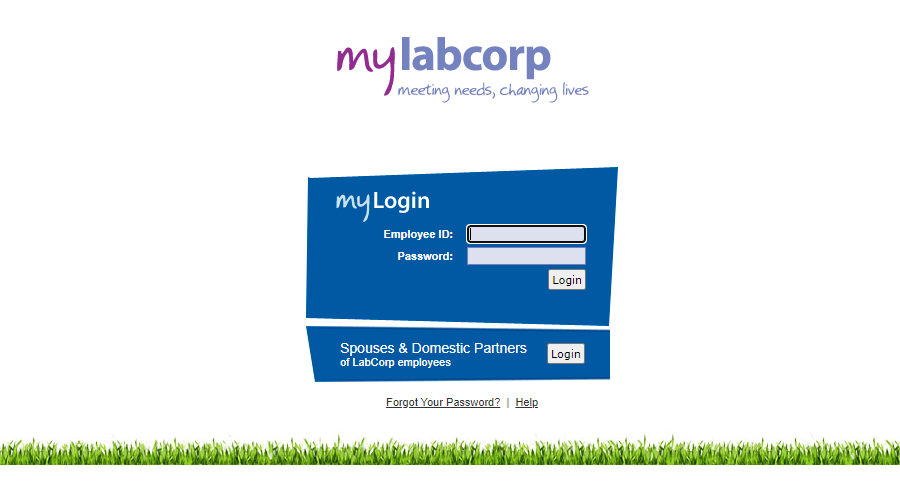 LabCorp Employee Portal login