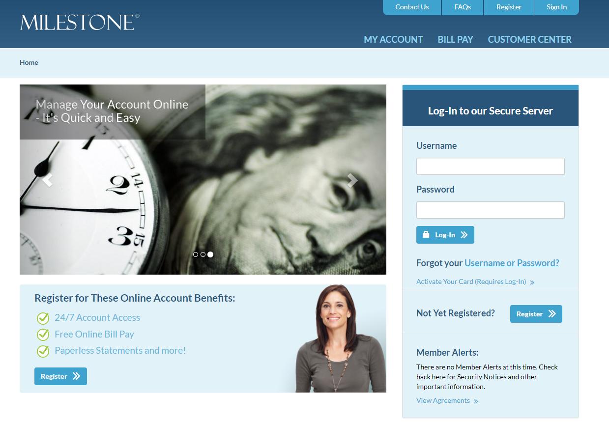 Milestone Online Portal