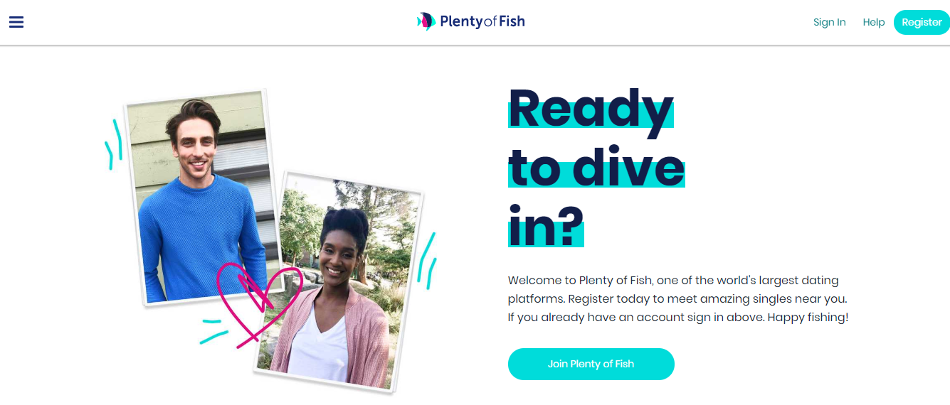 Plenty of Fish Online Login