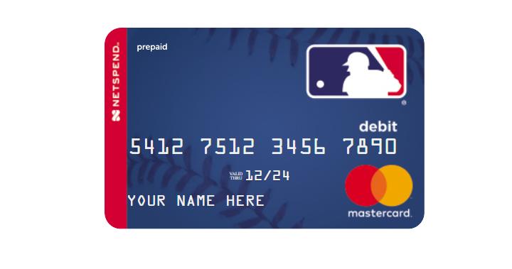 mlb netspend mastercard logo