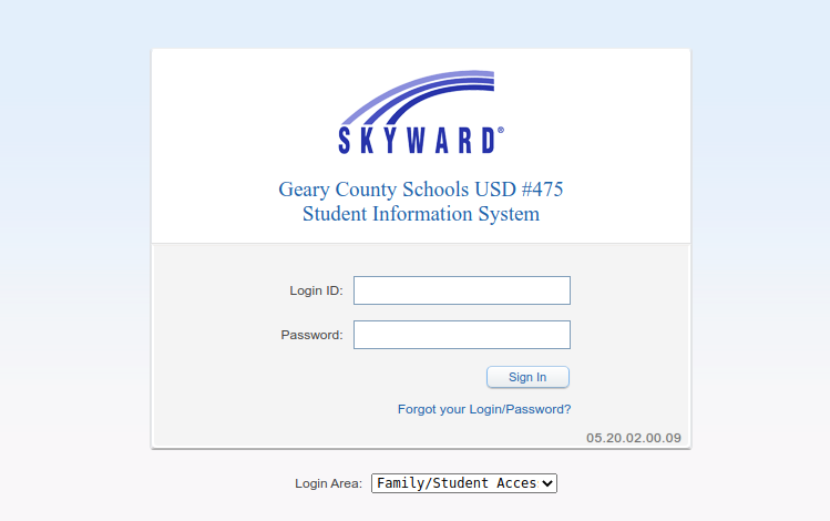 usd 475 skyward logo