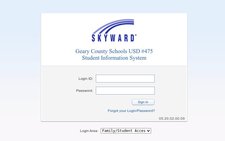 usd 475 skyward logo
