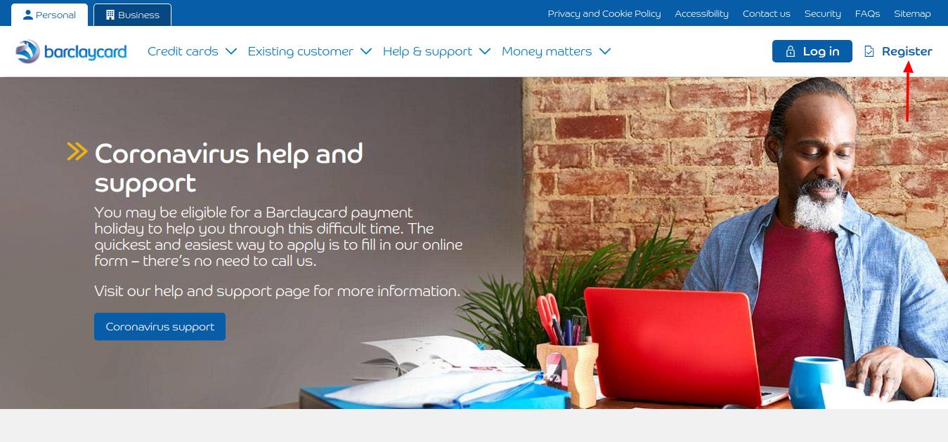Barclaycard Credit Card Register