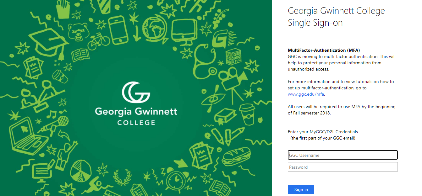 GGC Student Login