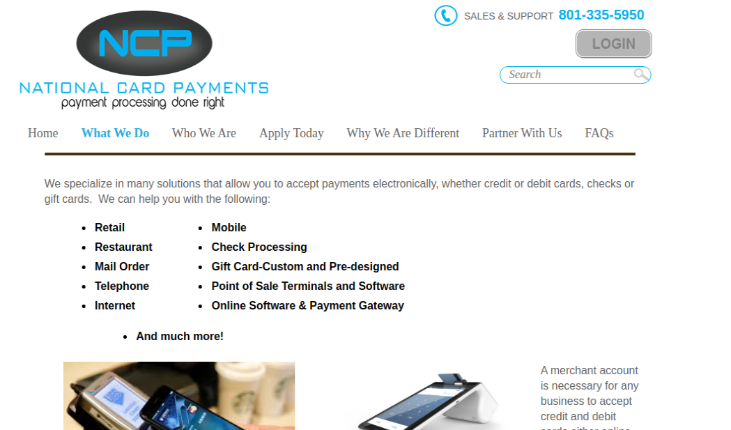 National Card Payments Logo