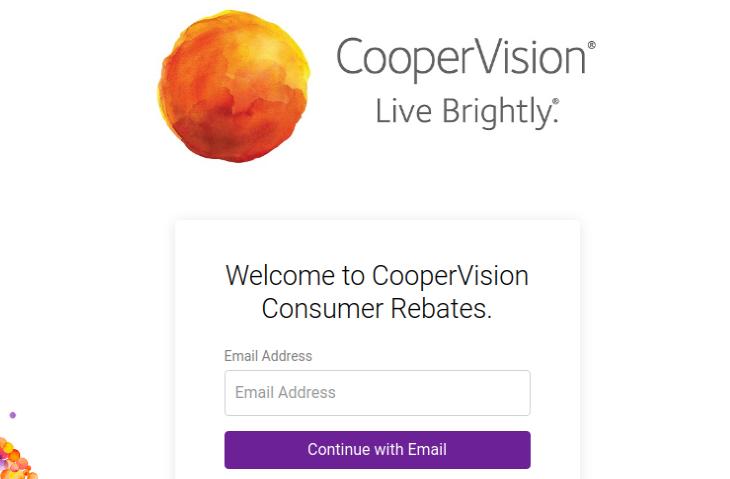 Cooper Vision Rebate Claim
