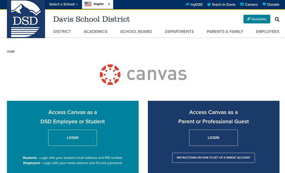 Davis School District Login