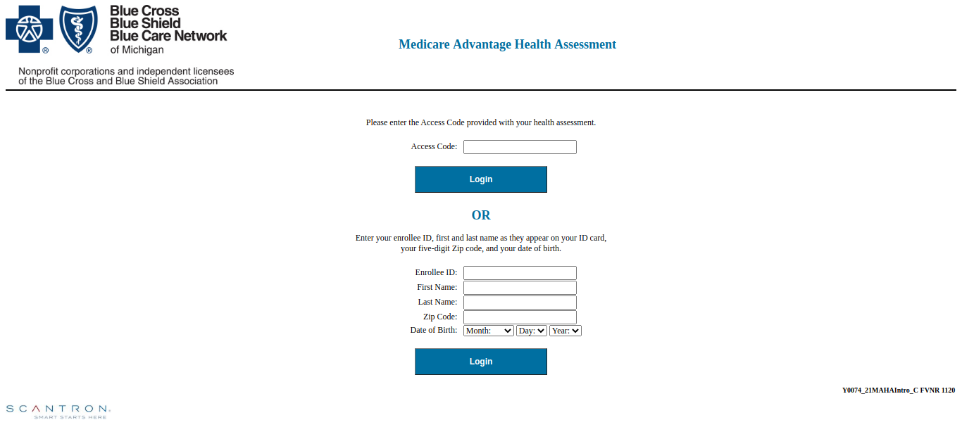 Medicare advantage login
