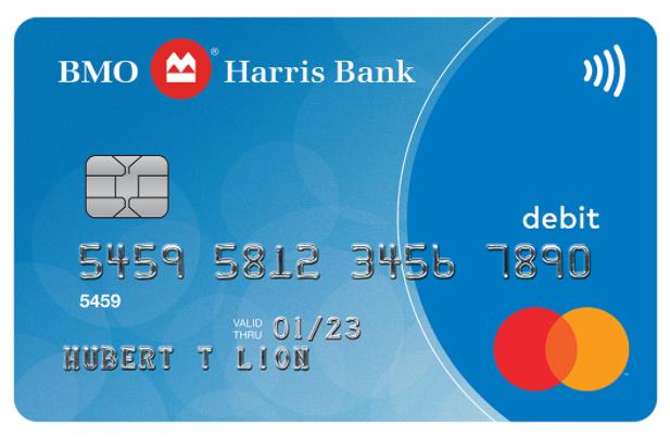 bmo debit card