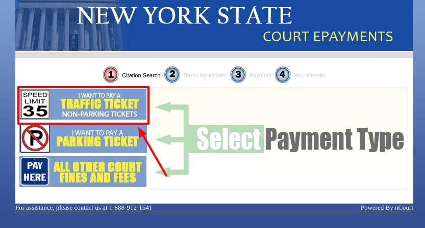 pay court online bill payment